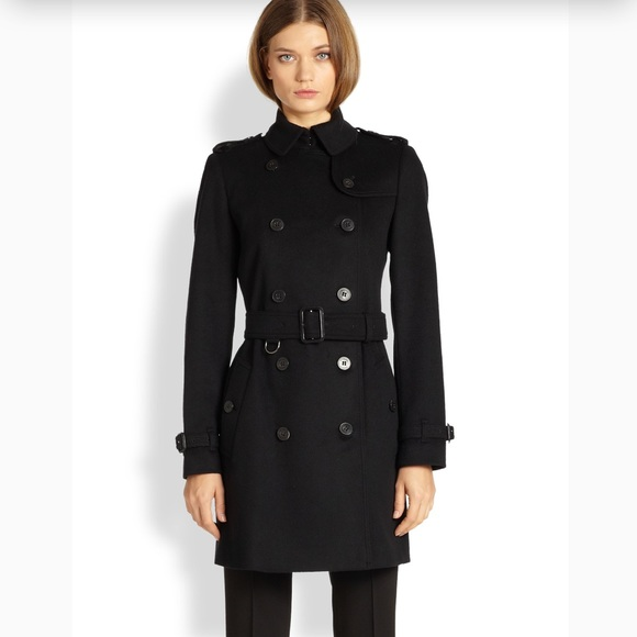 Burberry London Wool & Cashmere-Blend Long Coat Hard Wearing Clearance Manchester Great Sale Fake Cheap Online a5L8tpmmt